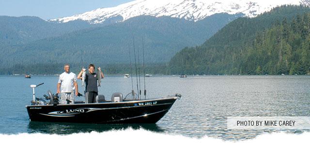 Fishing Baker Lake
