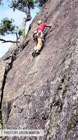 Climbing Mt. Erie - Ian Ferguson