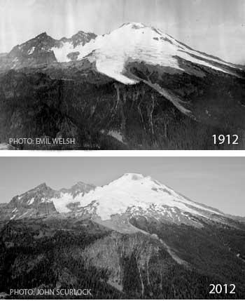 Mt. Baker Glacier Melting