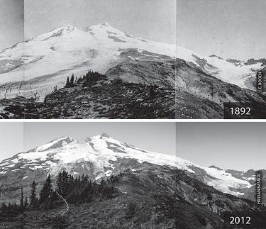 Mt. Baker Glacier Melt