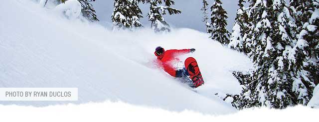 t. Baker Legendary Banked Slalom