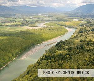 Paddling the Skagit River