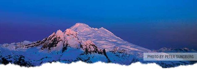 Mt. Baker Twin Sisters Range