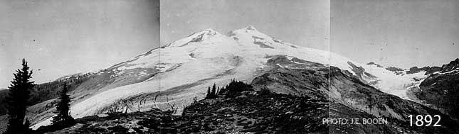 Mt. Baker Glacier Retreat