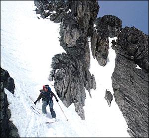 Mt. Baker Traversing