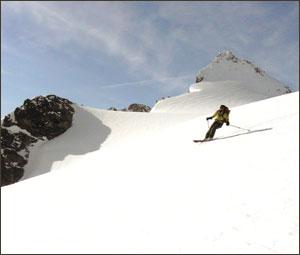Mt. Baker Isolation Traversing