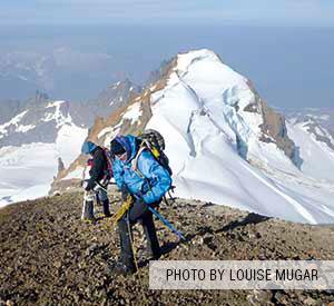 Climbing Mt. Baker