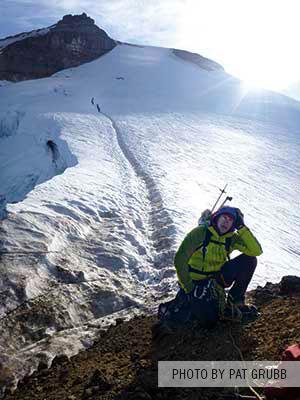 Climbing Mt. Baker - Pat Grubb
