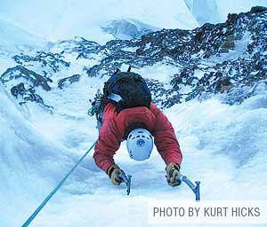 Ice Climbing Mt. Baker