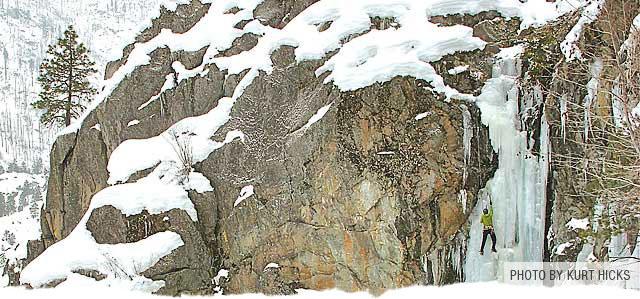 Ice Climbing North Cascades