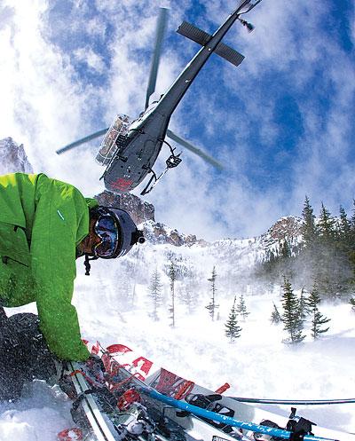 Heli-Skiiing Mt. Baker