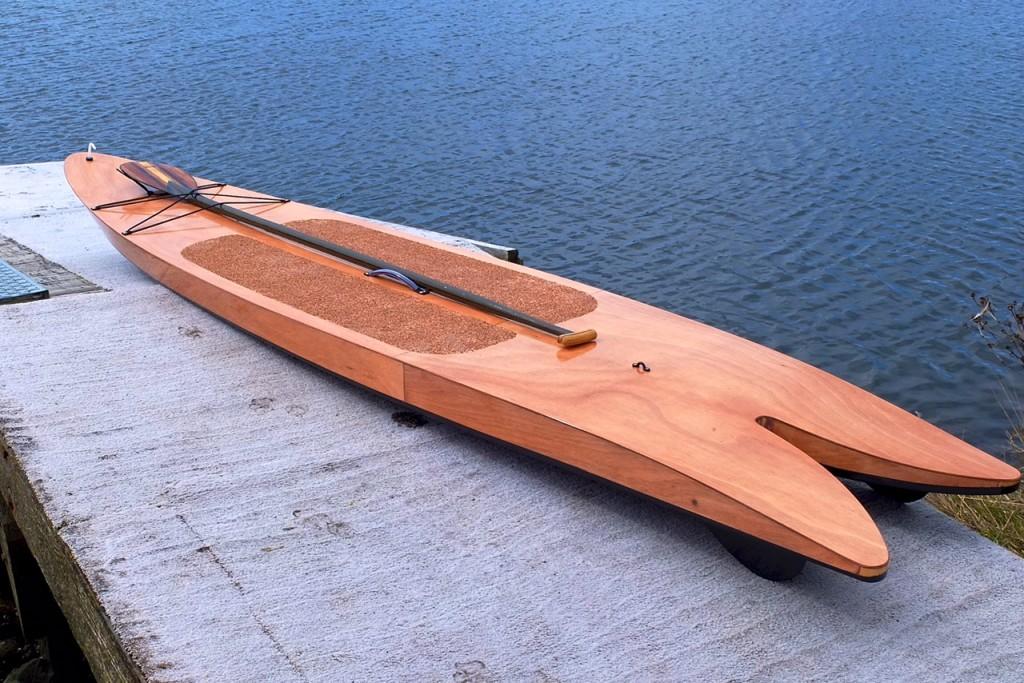 finished paddleboard