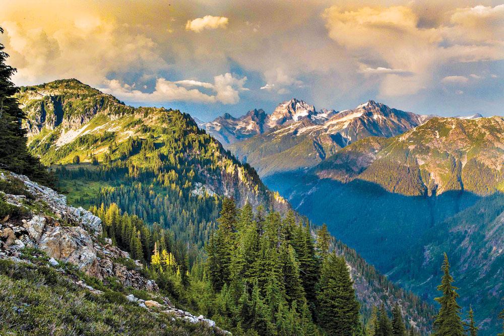 Copper Ridge, North Cascades. Andy Porter photo.