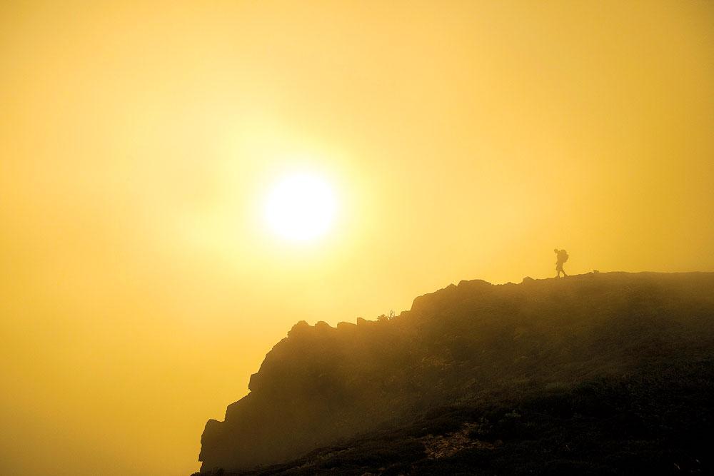 The summit ridge of Chickamin Peak, Alpine Lakes Wilderness. Jason Hummel photo.